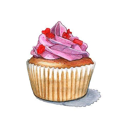 Sponge cake clipart clipart black and white stock Cupcakes and Muffins Cupcakes and Muffins Sponge cake ... clipart black and white stock