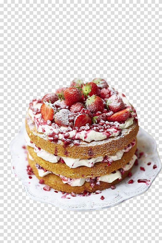 Sponge cake clipart picture black and white download Strawberry crepe cake , Sponge cake Torte Chocolate cake ... picture black and white download