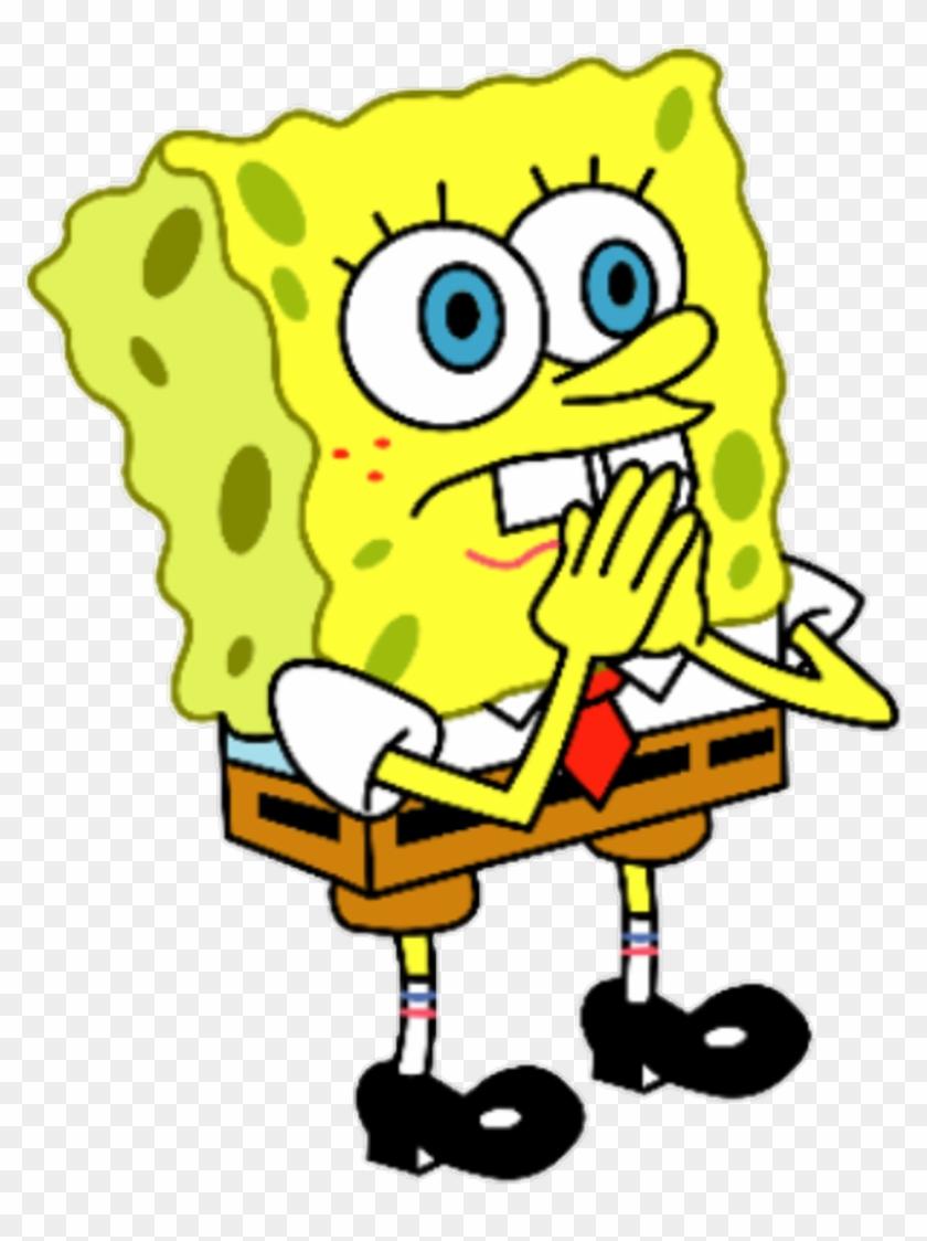 Spongebob clipart transparent black and white Spongebob Face Clipart With A Transparent Background ... black and white