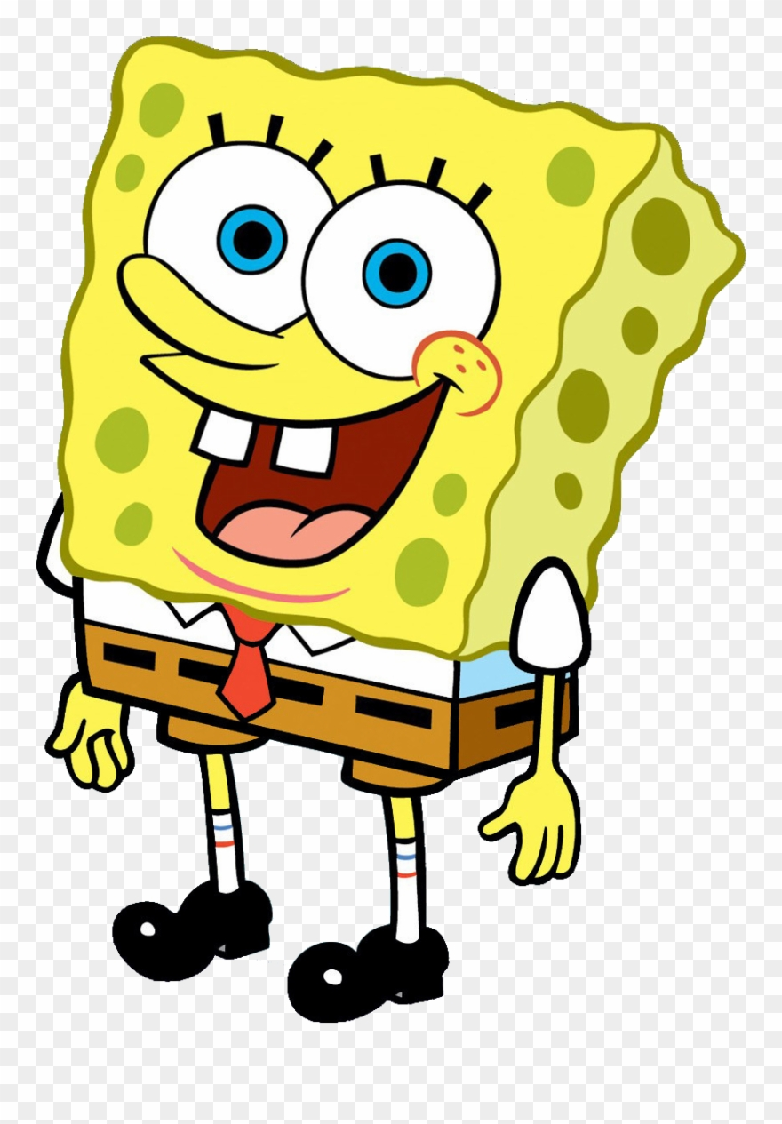 Spongebob clipart transparent svg black and white library Clipart Black And White Library Boy Transparent Spongebob ... svg black and white library