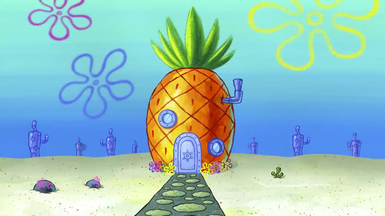 Spongebob pineapple house clipart png library SpongeBob\'s house | Encyclopedia SpongeBobia | FANDOM ... png library