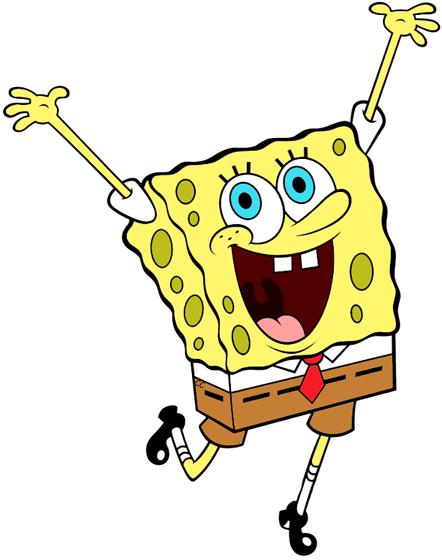 Spongebob squarepants clipart clipart freeuse library Spongebob Squarepants Clip Art | Cartoon Clip Art clipart freeuse library