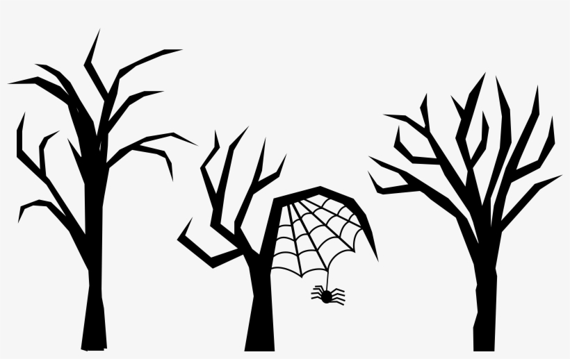Spooky forest clipart freeuse stock Tree Download Drawing Haunted House Forest - Spooky Tree ... freeuse stock