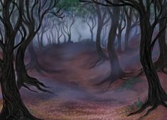 Spooky forest clipart clipart black and white 15 Best Haunted forest images in 2018 | Haunted forest, 2016 ... clipart black and white
