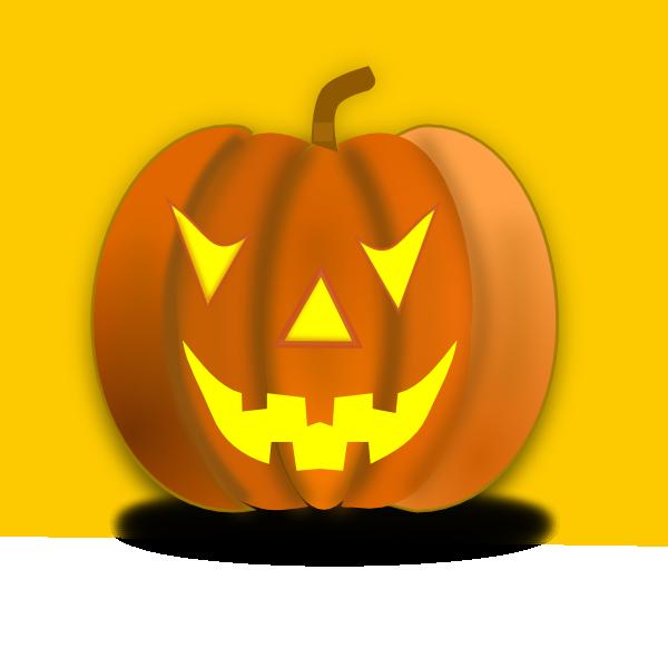 Spooky pumpkin clipart clip art transparent download Halloween Pumpkin Clip Art at Clker.com - vector clip art online ... clip art transparent download