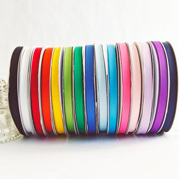 Spool of ribbon clipart vector freeuse download Rainbow Grosgrain Ribbon Spools, 15 color set, 3/8ths wide ... vector freeuse download