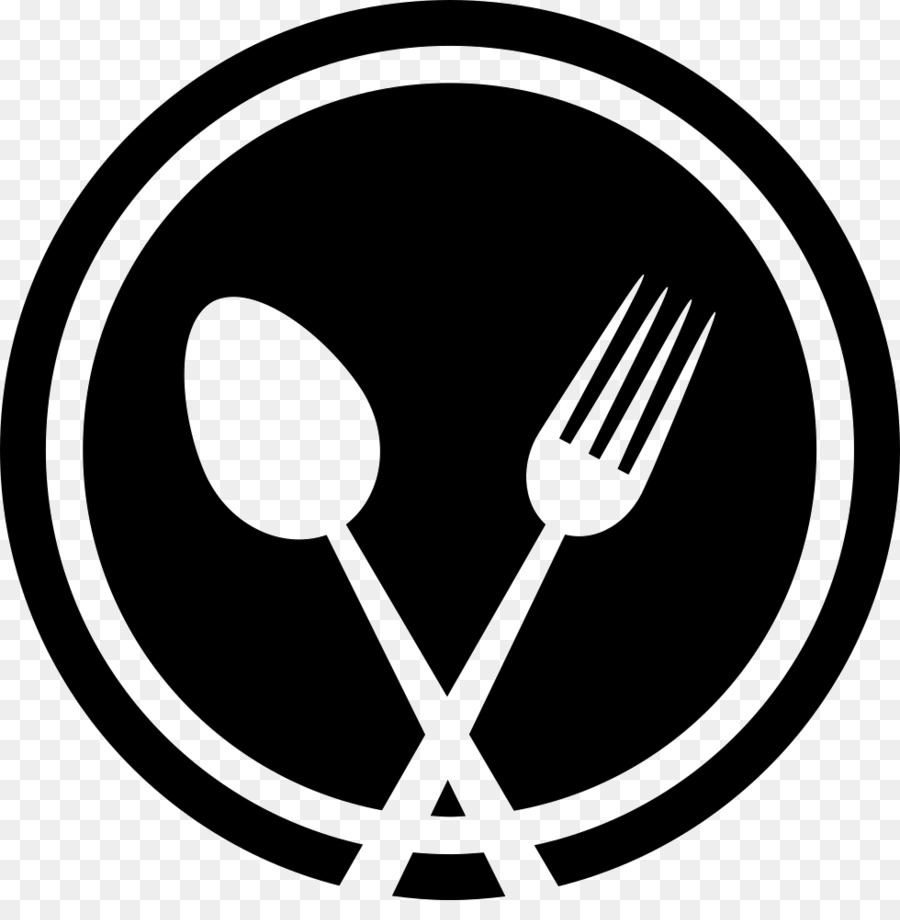 Spoon and fork logo clipart vector transparent library White Circle clipart - Knife, Fork, Spoon, transparent clip art vector transparent library