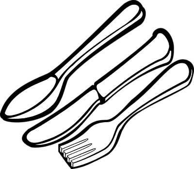 Spoon clipart black and white clip art freeuse download Spoon Clipart Black And White | Clipart Panda - Free Clipart ... clip art freeuse download