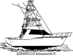 Sport fishing boat clipart svg black and white library Sport fishing boat clipart 1 » Clipart Portal svg black and white library