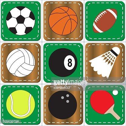 Sport icon clipart