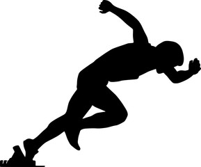 Sportler clipart banner black and white Sportler clipart 4 » Clipart Station banner black and white