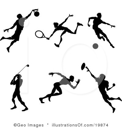 Sports cliparts svg transparent Free sports clipart images - ClipartFest svg transparent