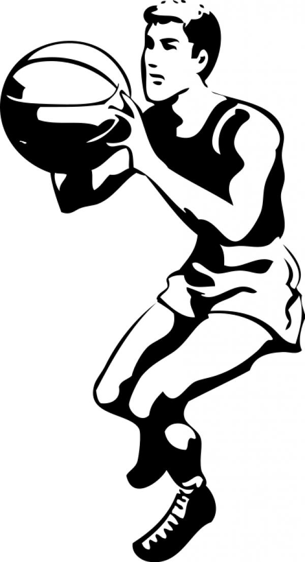 Sports cliparts vector black and white stock Sports cliparts - image #5 vector black and white stock