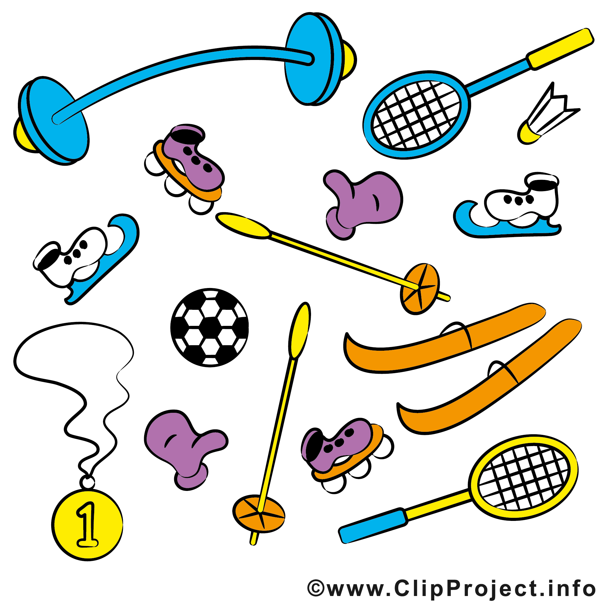 Sports cliparts free download svg Sports clipart free - ClipartFest svg