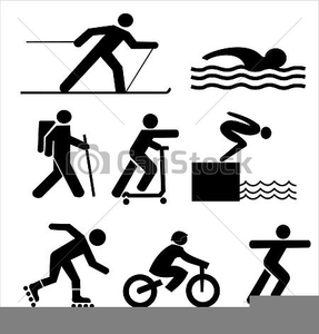Sports figures clipart banner royalty free download Clipart Sports Figures | Free Images at Clker.com - vector ... banner royalty free download