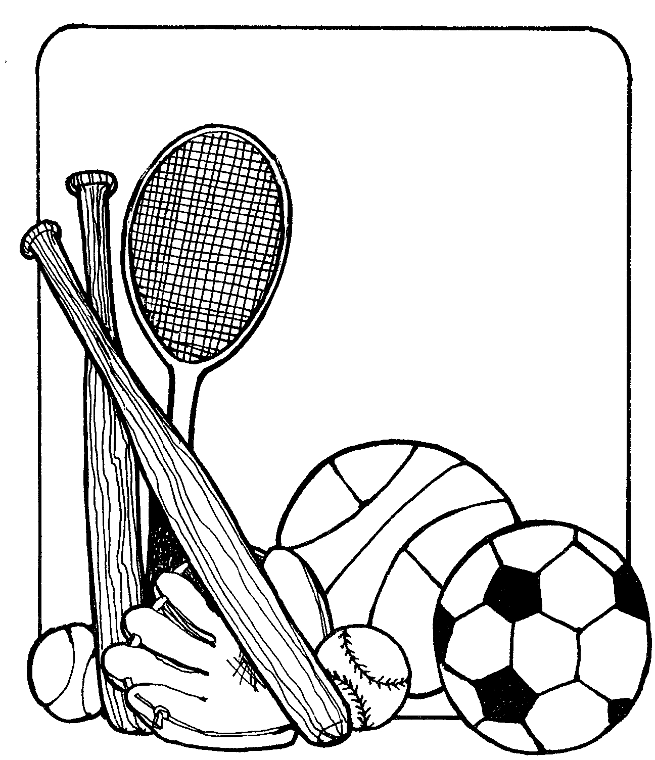 Sports illustrated black and white clipart hd clip black and white download Free Black Sports Cliparts, Download Free Clip Art, Free ... clip black and white download