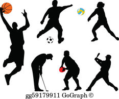 Sports figures clipart free Sport Clip Art - Royalty Free - GoGraph free