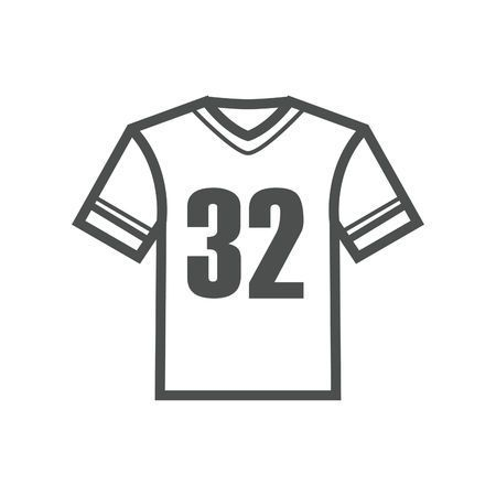 Sports jersey clipart black and white graphic freeuse Football jersey clipart black and white 4 » Clipart Portal graphic freeuse