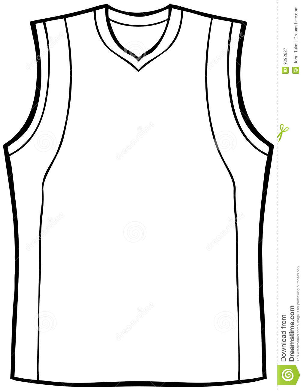 Sports jersey clipart black and white graphic transparent Blank Basketball Jersey Clipart | Free download best Blank ... graphic transparent