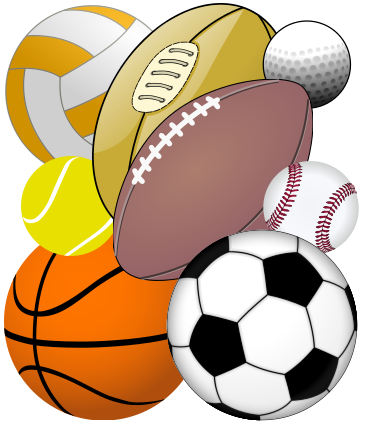 Sports radio clipart banner black and white download Illinois Official: Daily Fantasy Betting is Illegal | Peoria ... banner black and white download