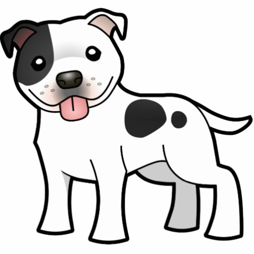 Spot the dog clipart vector black and white stock The Pit Spot - DontBullyThePitties vector black and white stock