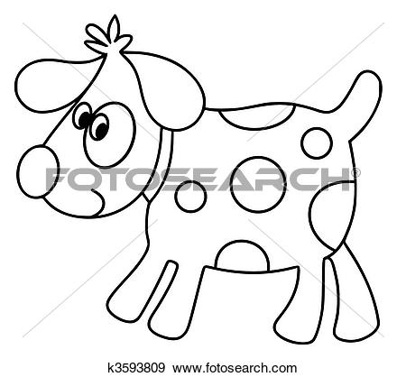 Spot the dog clipart vector transparent download Stock Illustration of Spot the Dog k3593809 - Search Vector ... vector transparent download