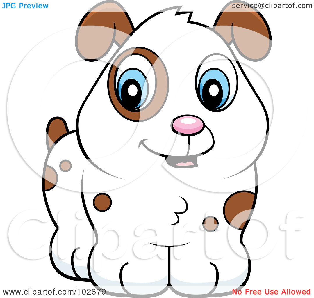 Spot the dog clipart picture royalty free download Royalty-Free (RF) Clipart Illustration of a Cute White Puppy Dog ... picture royalty free download