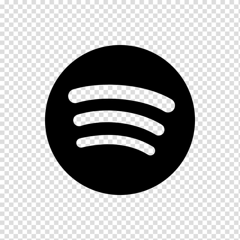 Spotify logo clipart white png stock Black Spotify logo, Spotify Music Playlist Streaming media ... png stock