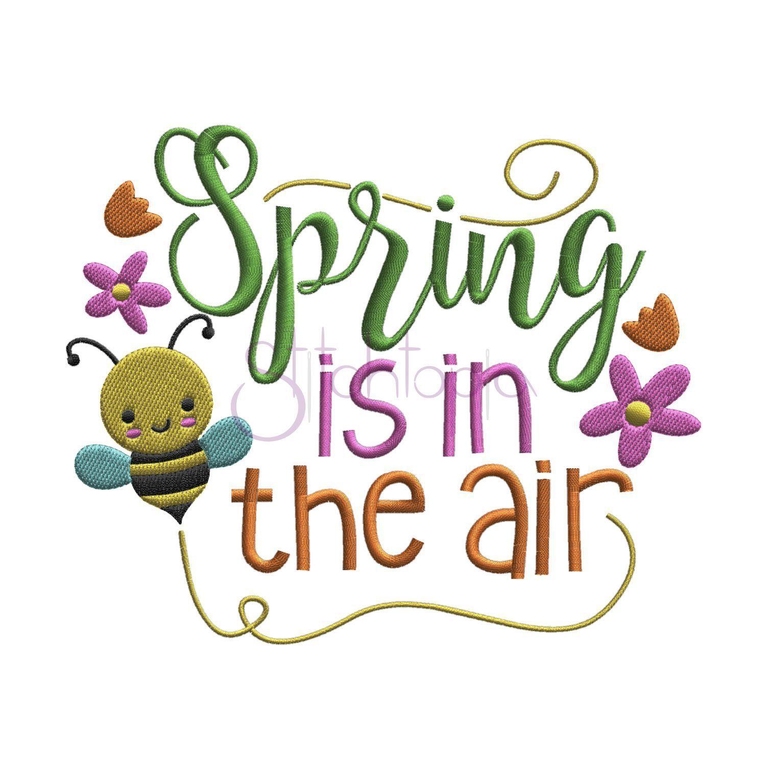 Spring air clipart clip art black and white stock Spring is in the air clipart 5 » Clipart Portal clip art black and white stock