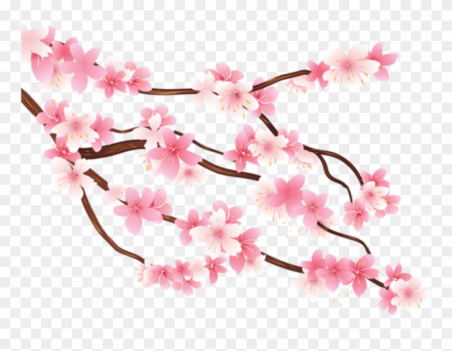 Spring branch clipart banner stock Free Png Pink Spring Branch Png Images Transparent ... banner stock