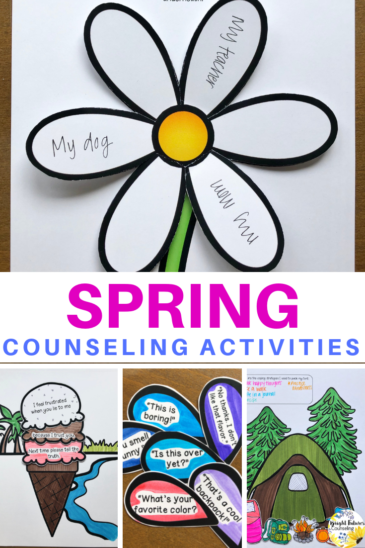 Spring break countdown clipart svg freeuse stock Countdown to Spring Break - School Counseling Spring ... svg freeuse stock