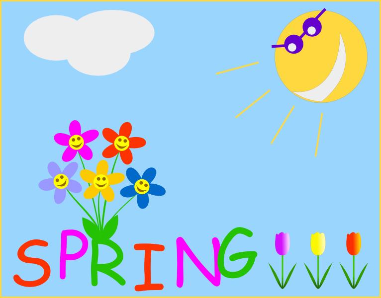 Spring clipart printable svg transparent download Printable spring clipart - ClipartFest svg transparent download
