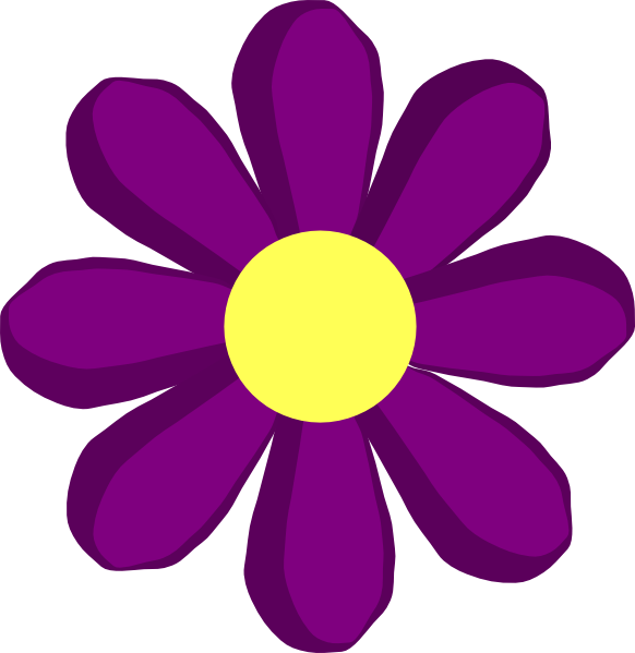 Violet flower clipart freeuse download Free printable spring clipart - ClipartFest freeuse download