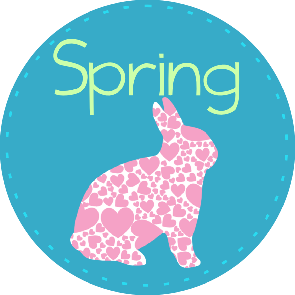 Spring dog clipart jpg royalty free stock Spring With Bunny Clip Art at Clker.com - vector clip art online ... jpg royalty free stock