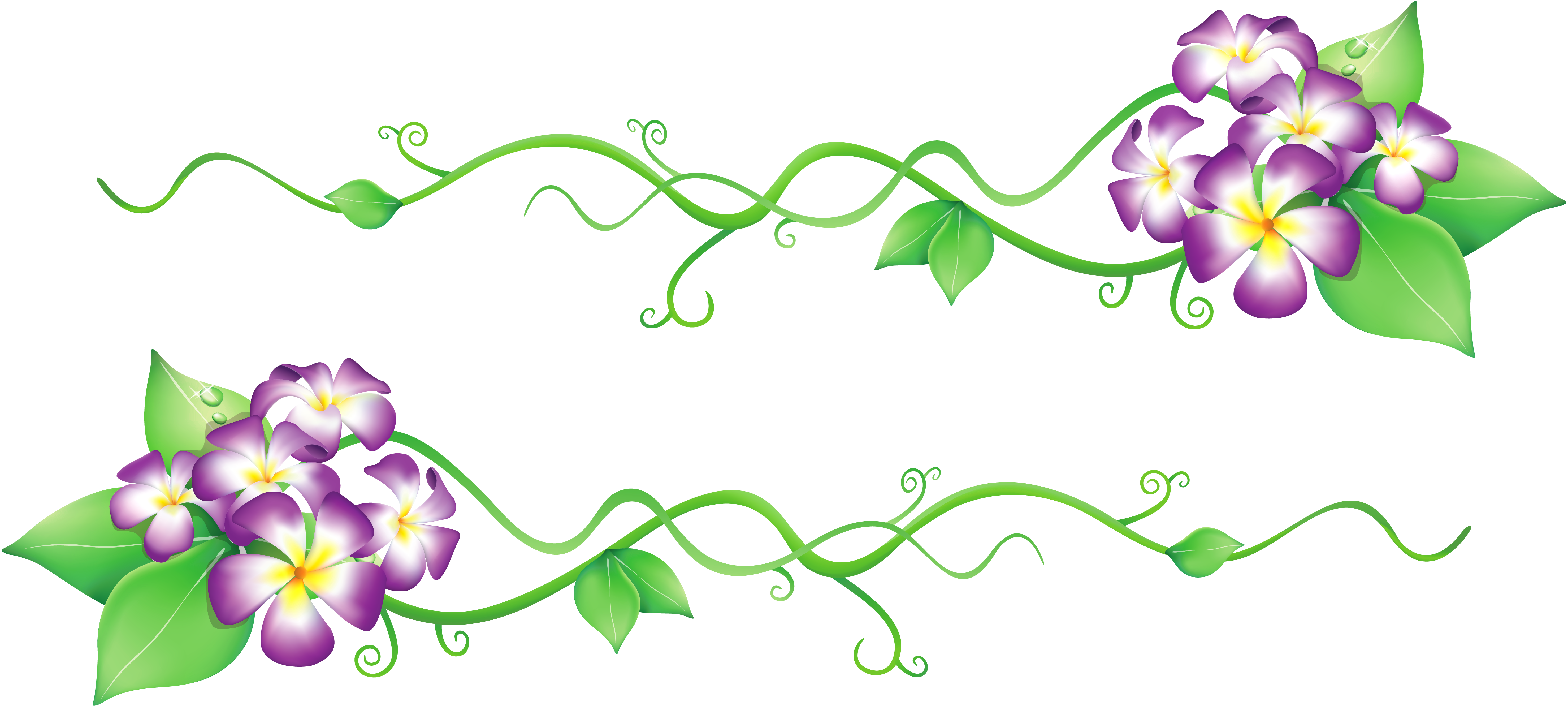 Flower wallpaper clipart banner free Flowers Spring Decor PNG Clipart banner free