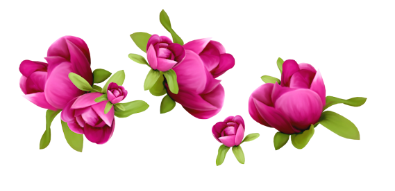 Spring flower clipart png banner library library Spring Flowers Decoration PNG Clipart banner library library