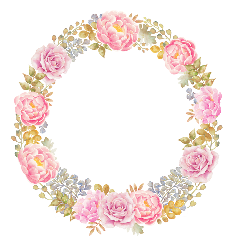Spring flower wreath clipart jpg black and white library blossom (23).png | Pinterest | Decoupage, Decoupage printables and ... jpg black and white library