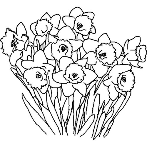 Spring flowers black and white clipart clip art royalty free library Spring Clip Art Black And White Spring Clip Art Black And ... clip art royalty free library
