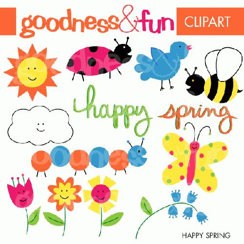 Spring fun clipart free graphic download Spring Clipart | Free Download Clip Art | Free Clip Art | on ... graphic download