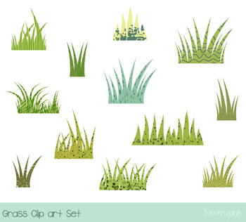 Tufts of grass clipart freeuse stock Green grass clipart, Easter spring grass with texture, Tufts of grass clip  art freeuse stock
