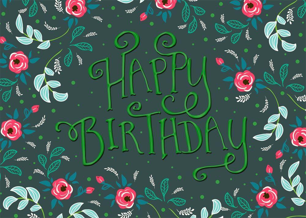 Spring happy birthday clipart banner Springtime Birthday Flowers | Birthday Wishes | Birthday ... banner