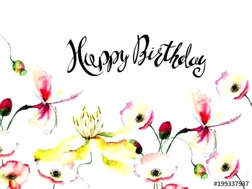 Spring happy birthday clipart picture black and white download spring flowers happy birthday clipart – penguinorganize.com picture black and white download