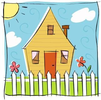 Spring house clipart picture transparent stock Free Home Stuff Cliparts, Download Free Clip Art, Free Clip ... picture transparent stock