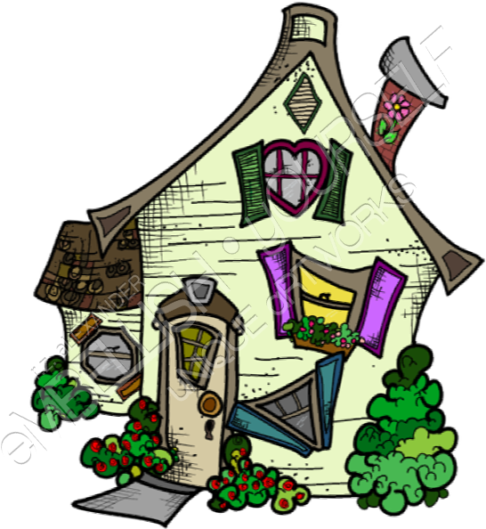 Spring house clipart clip art freeuse download Spring House Created By Rz Alexander - Cartoon Clipart ... clip art freeuse download