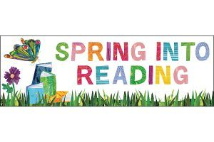 Spring into reading clipart graphic free Spring clipart images » Clipart Portal graphic free