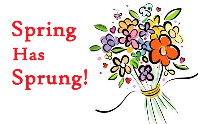 Spring pictures 2018 clipart jpg transparent First day of spring 2018 clipart 6 » Clipart Station jpg transparent