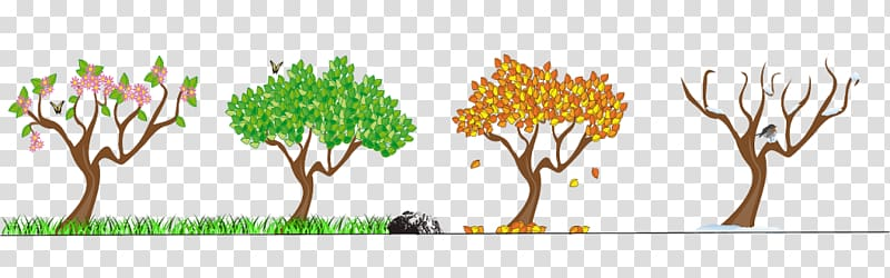 Spring season clipart png with background clip art Season Spring Autumn Winter , autumn transparent background ... clip art