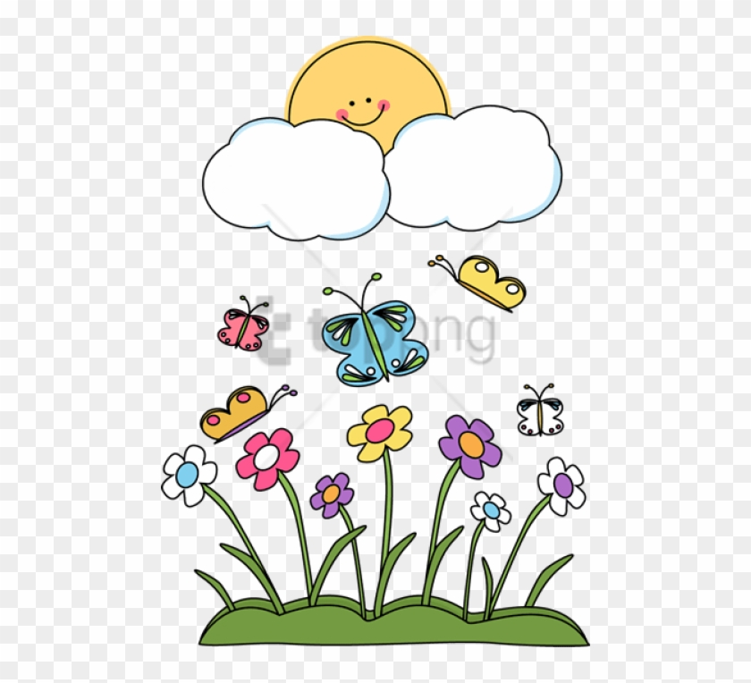 Spring season clipart png with background clip library library Free Png Spring Season Clipart Png Png Image With ... clip library library