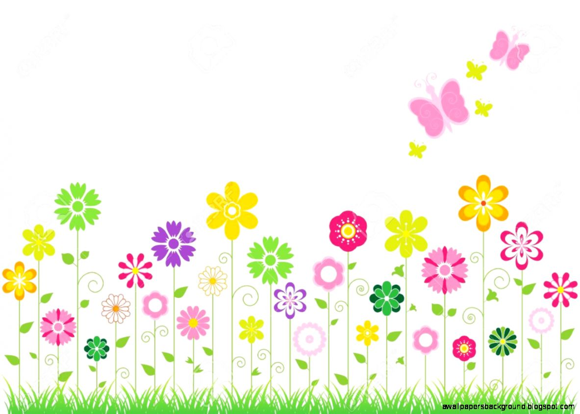 Spring time flowers clipart clipart royalty free Free Springtime Background Cliparts, Download Free Clip Art ... clipart royalty free