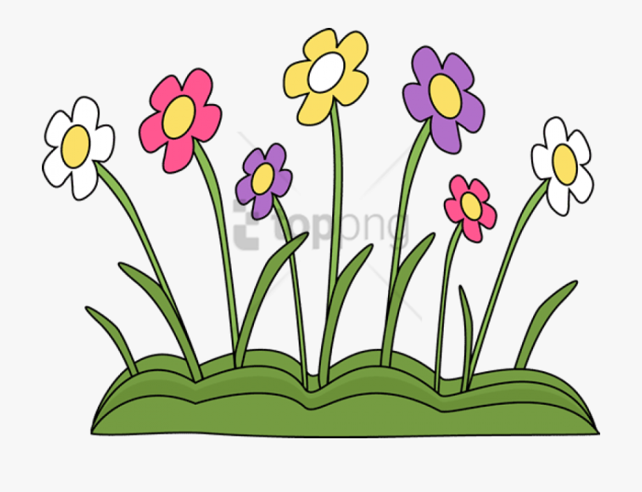 Springtime flowers clipart png library library Spring Flowers Clipart Clear Background - Spring Season ... png library library